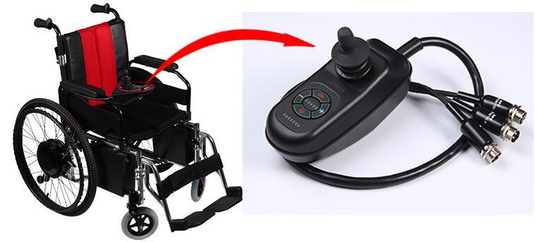 Wheelchair controller
