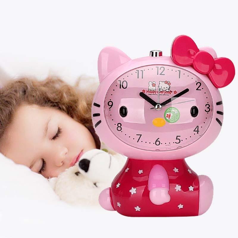 Children Baby Room Decoration Clock Bedroom Music Alarm ...