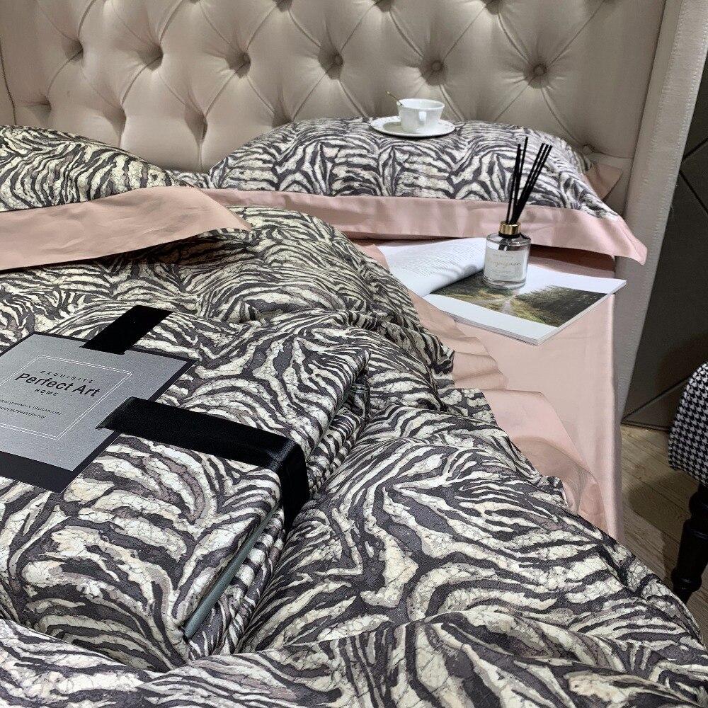 Nuevo juego de cama de algodón egipcio de los años 60 ropa de cama de lujo - 6