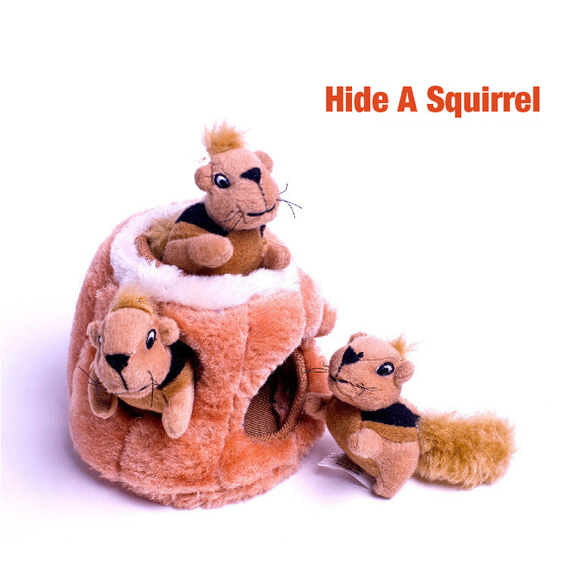 Mini Stuffed Toys Simulation Squirrel Stuffed Plush Lovely Toy Animal Kids Toy Decorations Birthday Gift For Children (1)
