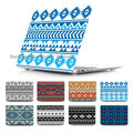 BTD Tribal ethinc Pattern Hard Print Cover Case Skinfor Macbook Air 11 13.3 13 15 inch Macbook Pro Retina Blue and Navy