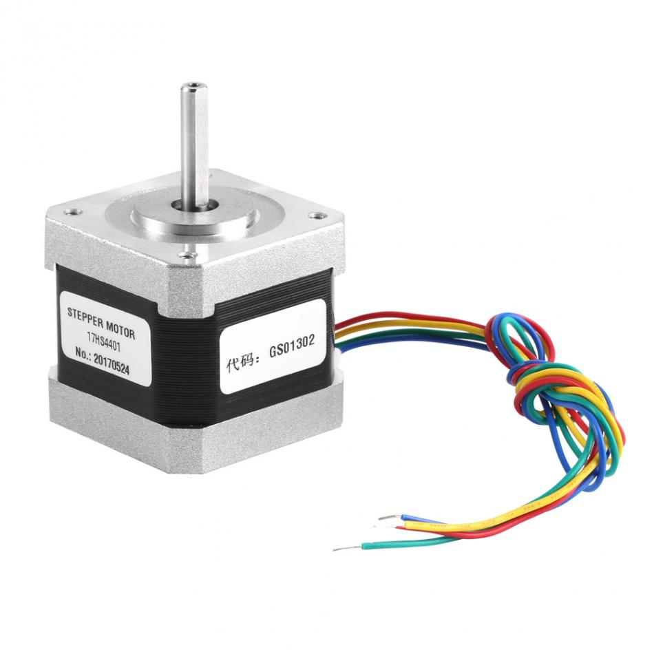 17hs4401 4 Wire Nema17 Stepper Motor 17a 42mm42mm For Printer And Wiring Cnc Engraving Machine Wholesale In From Home Improvement On