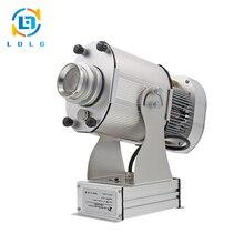 2017 Venta Caliente de Plata de Aleación de Aluminio AL AIRE LIBRE 4500 Lúmenes Proyector de la Publicidad IP65 Impermeable 40 W LED Proyectores de Imagen de Rotary