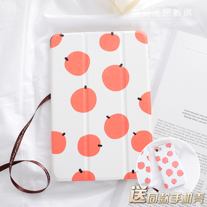 Orange Mini4 Mini2 Mini3 Flip Cover For iPad Pro 9.7 Air Air2 Mini 1 2 3 4 Tablet Case Protective Shell for ipad 2017 10.5 cartoon mini4 mini2 mini3 flip cover for ipad pro10 5 9 72017 air air2 mini 1 2 3 4 tablet case protective shell 10 5 9 7