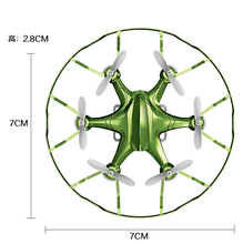 F18748/49  YD-A6 Mini 2.4G 4CH 6-axle Gyro RTF RC Quadcopter Drone 360 Flips Headless Mode Night Light UFO Helicopter Toys
