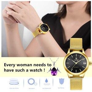 Image 4 - Luxury ยี่ห้อ TEVISE ผู้หญิงนาฬิกาสร้อยข้อมือนาฬิกาผู้หญิงกันน้ำกันน้ำนาฬิกาข้อมือนาฬิกาสำหรับสตรี