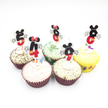 Birthday Cake Candle Mickay Mouse Party Supplies 0 1 2 3 4 5 6 7 8 9 Anniversary Numbers Age Decoration