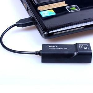 Image 4 - USB Ethernet Adapter Network Card USB Lan Mini Network Adapter USB to RJ45 10/100 Mbps Lan USB RJ45 Card for Mac PC Laptop