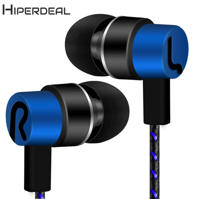 HIPERDEAL New  Universal 3.5mm In-Ear Stereo Earbuds Earphone For Cell Phone 18Jan24 Drop Ship 3
