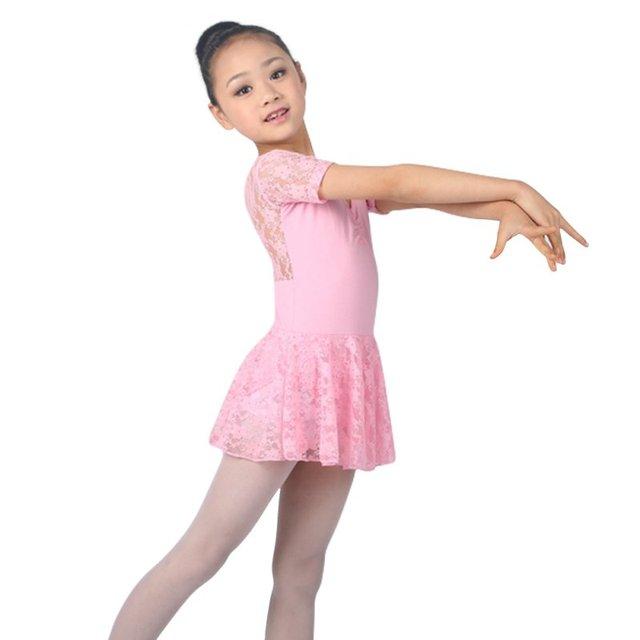 Girls dress crianças menina roupas de dança de balé crianças trajes de balé para meninas dança leotard dancewear menina