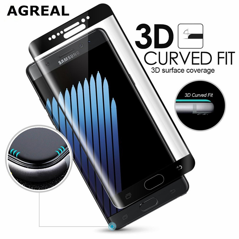 For Samsung Galaxy S8 Tempered Glass 3D Curved 0.2MM Full Cover Screen Protector Film For Samsung Galaxy S8 Plus G955 (S8 Edge) 1