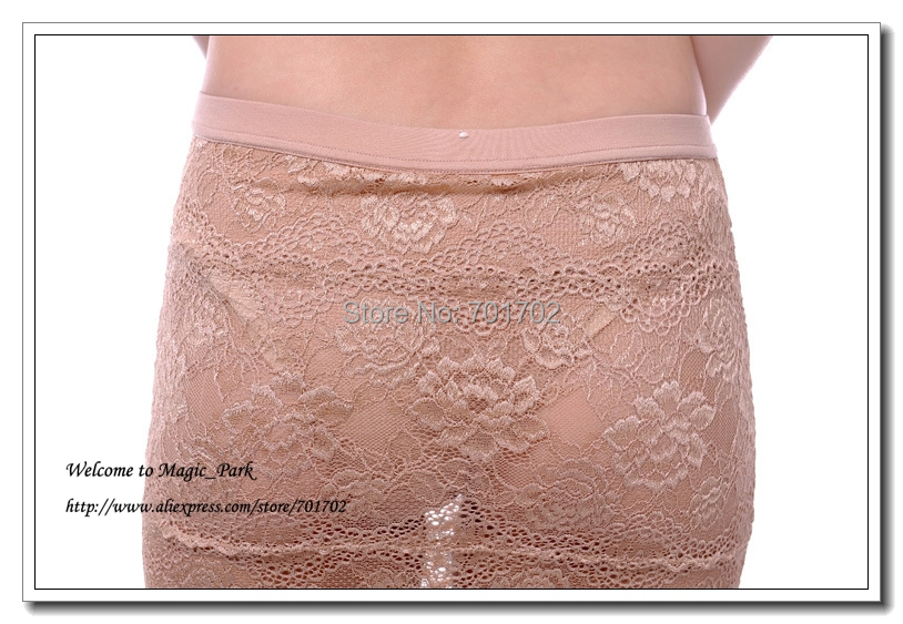 Sexy Lace Skirt For Women Ladies Above Knee Floral Skirts Dress With Panty Dobby A-Line Above Knee Hollow Out Black Beige (2).jpg
