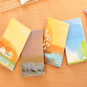 Image 5 - 40 قطعة/الوحدة جديد جميل الرياح سيارة خط مذكرات دفتر الطلاب القرطاسية 80k القرطاسية الكورية بالجملة