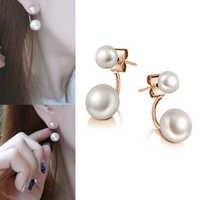 Frauen Stud Ohrringe Romantische Perle Ohrringe Sterling Silber Stud Ohrring Für Frauen