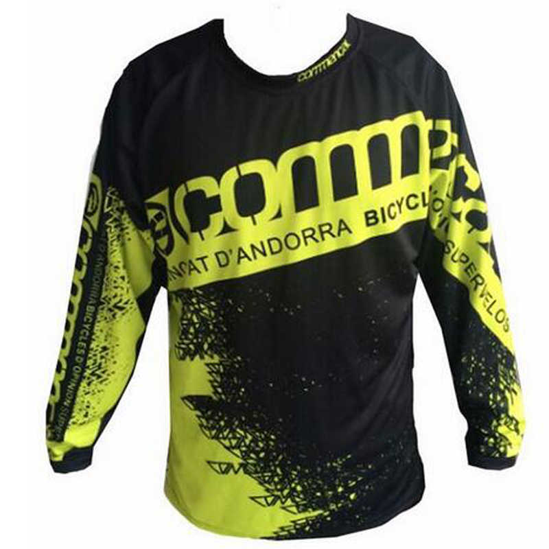 2017 prędkości rower górski koszulka rajdowa sprzęt kapitulacji Commencal Watchdog prędkość sucha jazda Off-road z długim rękawem T-shirt