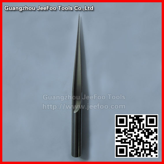 12*100H*R0.5*8degree*150L Ball nose end mill bit,Taper engraving bits ,Taper cutting tools free shiping tju aju c12 12 130 dia 12mm insertable bore drilling end mill cutting tools arbor for cpmt080204