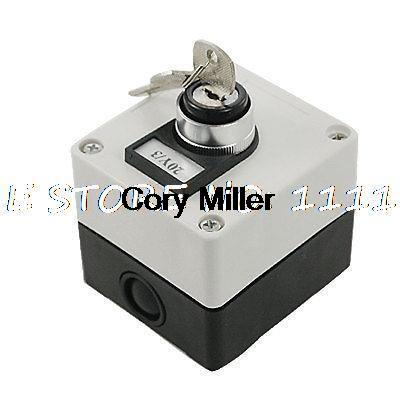 AC 660V 3 Position Key Lock Rotary Select Selector Switch Station Screw Terminal three position selector rotary switch power ignition lay7 20x 3 s018y high quality