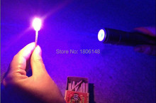 NEW high power blue laser pointers 300w 300000mw 450nm burning match/dry wood/candle/black/cigarettes+5 caps+glasses+charger+box