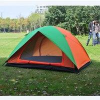 Camping Namiot dla Plecakiem Piesze Wycieczki Trekking Fishing Podwójne Warstwy Wodoodporny Poliester Markizy Namiot Namioty Plażowe dla Rodziny