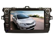 free shipping 8Inch Car DVD Player for Toyota Corolla 2007 2008 2009 2010 2011 Bluetooth GPS Navigation Radio FREE Map+camera