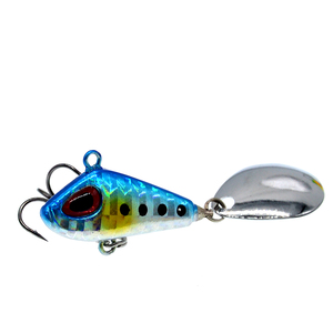 Image 5 - Metal Mini VIB Fishing Lure 6g 25g Winter Ice Fishing Tackle Pin Crankbait Vibration Spinner Sinking Bait