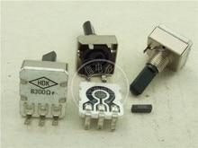 Оригинальный Новый высокотемпературный керамический микрокристаллический потенциометр 100% VG161CNB300R B300 Ом (переключатель)