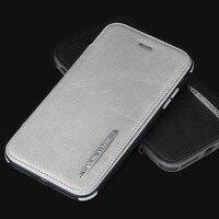 For iPhone 8 8 Plus 7 7 Plus Pierre Cardin Genuine Leather Cell Phone Case Detachable Flip Bracket Soft Silica Gel Cover Case