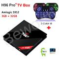 3GB RAM 32GB H96 Pro Plus + Amlogic S912 Octa-core Android 6.0 TV BOX 4K 1000M 2.4/5.8G WiFi BT4.0 Kodi Smart Media Player CSA93
