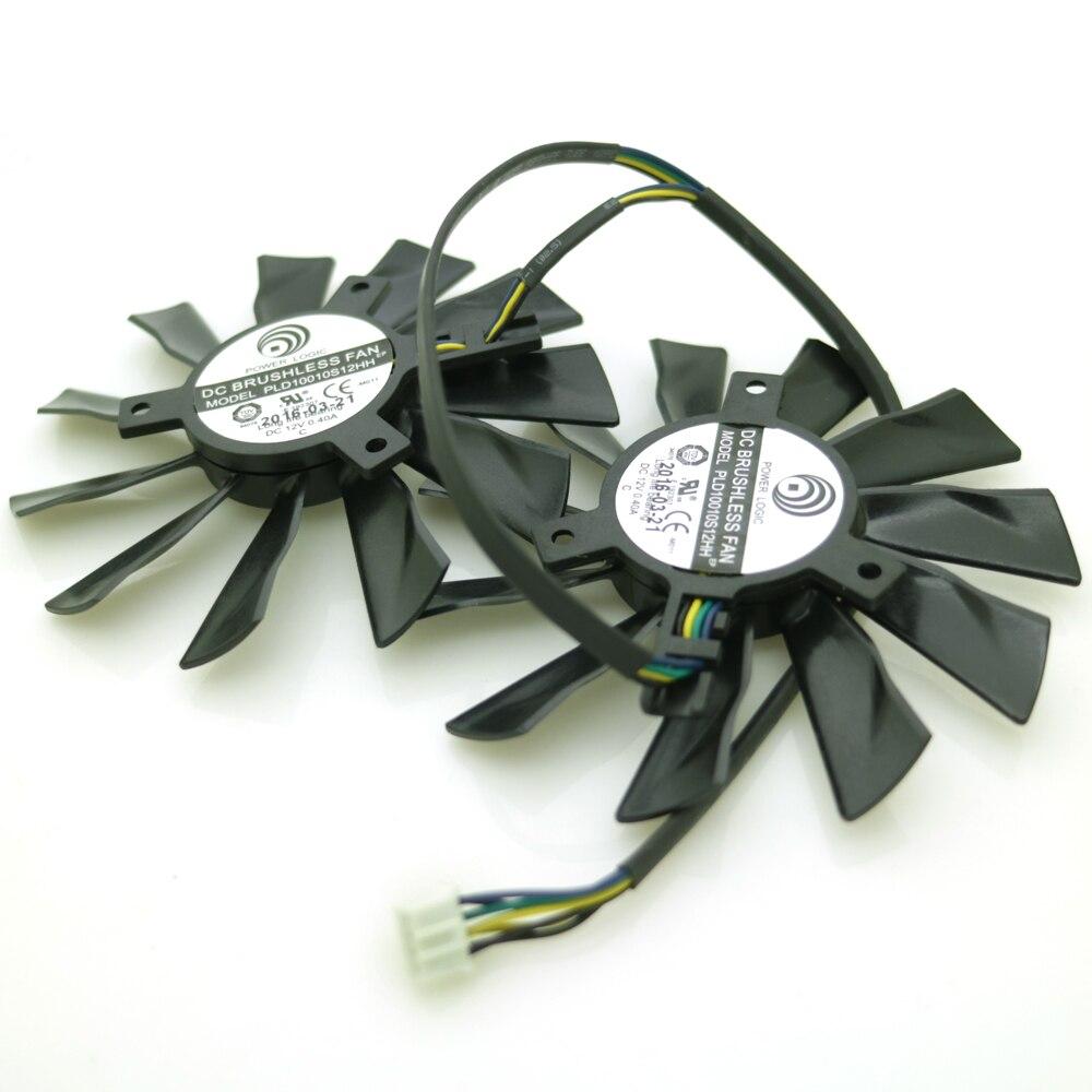 Անվճար առաքում 2pcs / lot PLD10010S12HH 12V 0.40A MSI - Համակարգչային բաղադրիչներ - Լուսանկար 5