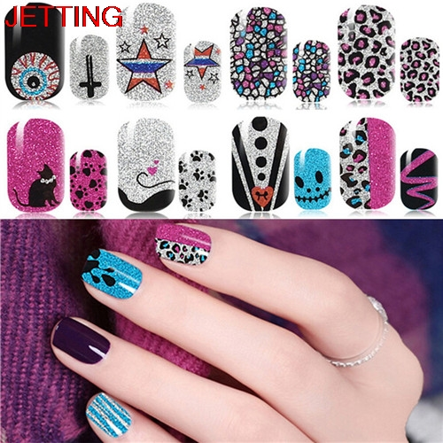 2017 New Fashion Nail Strip Polish Art Sticker Patch Foil Diy Manicure Beauty Decoration Tools In Stickers Decals From Health On
