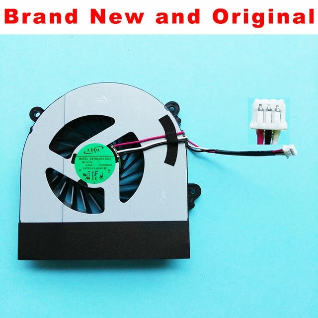 New fan ban đầu Cho Clevo W150 W150er W350 W350ETQ W370ETQ W370SKQ CPU Làm Mát Fan AB7905HX-DE3 6-23-AW15E-010 6-23-AW15E-011