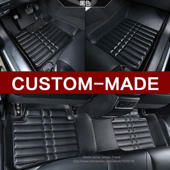 Custom fit car floor mats for Audi A1 A3 A4 A6 A7 Q3 Q5 Q7 3D car-styling heavy duty all weather carpet floor liner RY173