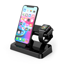2 in 1 Wireless Charger Stand charging holder docks for Apple iwatch 4/3/2 iPhone XS/X/8/7 Samsung Galaxy S9 S7 S6 S8 Note