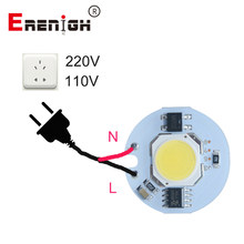 LED Lamp Chip COB 9W 7W 5W 3W 220V 110V Input Smart IC Driver Fit For DIY Cold White / Warm White LED Spotlight Floodlight(China)