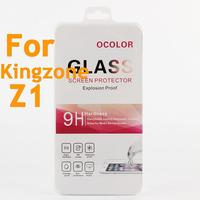 High Quality 9H Tempered 0 26mm Kingzone Z1 Glass Screen Protector Protective Film For Kingzone Z1