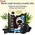 Tirón máscara de la Máscara de Negro Para Blanquear Hidratante Máscara Anti-Envejecimiento Facial Cuidado Negro Máscara de Oro F141
