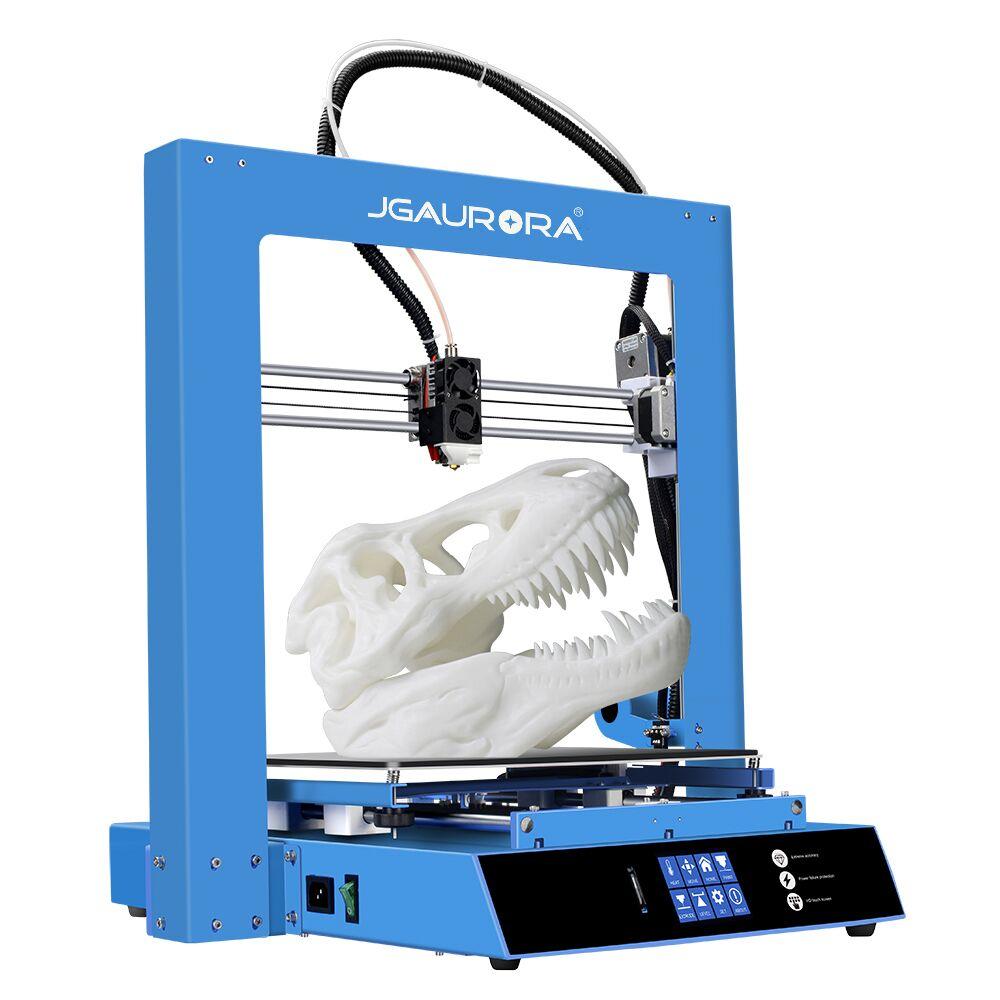 JGAURORA Новый 3D принтер A1 большой размер печати 300x300x300 мм сплав экструдер сбой питания повторная печать impresora 3D