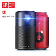 Anker Nebula Capsule Smart Portable Wi-Fi Mini Projector Pocket Cinema with DLP 360′ Speaker 100″ Picture Android 7.1 and App