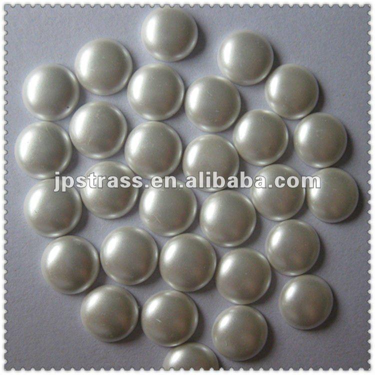 Жемчужные стразы Китай поставщик; 6 мм Жемчуг в железной оправе камни 50 любого размера в упаковке