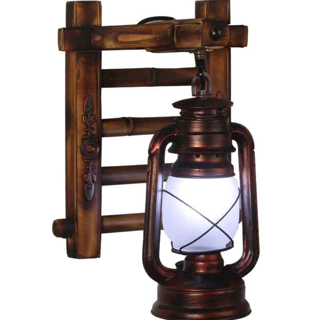 Vintage free shipping bamboo bronze kerosene lamp wall light stair vintage free shipping bamboo bronze kerosene lamp wall light stair corrider hallway garage storeroom traditional wall aloadofball Images
