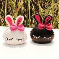Fashion Japanese Village Antique Cute Rabbits Ornaments Resin Craft Ornaments Artificial Resin Crafts Home Decor