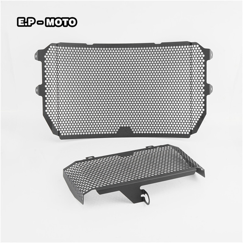 Motorcycle Radiator Grille Guard Protector Cover For MT-10 MT10 2015-2017 YZF-R1 R1 2015-2017 arashi motorcycle parts radiator grille protective cover grill guard protector for 2004 2005 2006 yamaha yzf r1