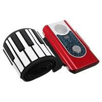 88 Chính Tay Cuộn Up Keyboard Piano Điện Tử Linh Hoạt Piano với MIDI Keyboard & Trường Hợp Bìa Cho Nhạc Cụ Người Yêu quà tặng