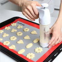 Chip Cookies Mold Decoration Gun 12 Flower Mold 6 Pastry Tips Cookie Cutter Cookie Machine Biscuit