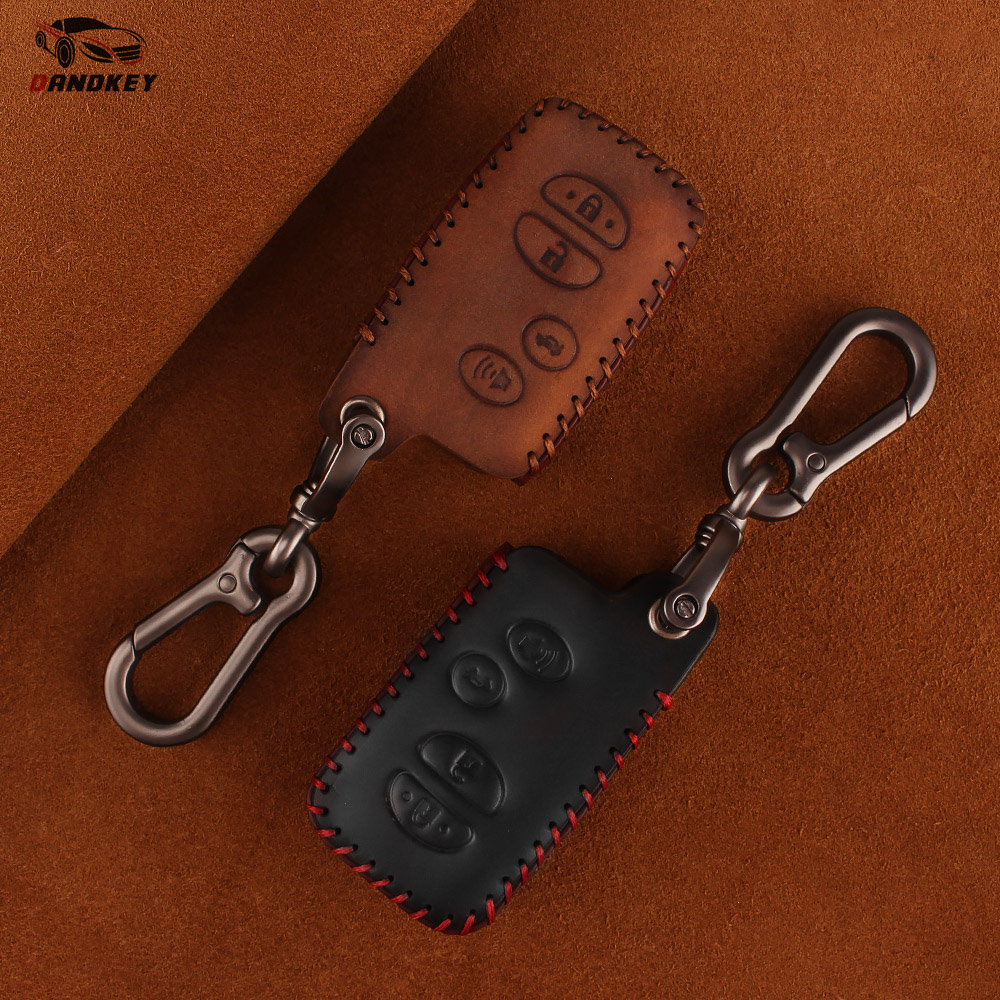 Dandkey Leather Key Case For Toyota Avalon Camry Corolla Highlander Venza Prius 2010 2011 2012 2013 Fob 4 ButtonsDandkey Leather Key Case For Toyota Avalon Camry Corolla Highlander Venza Prius 2010 2011 2012 2013 Fob 4 Buttons