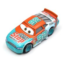 цена на Disney Pixar Cars 3 Racing Center Murray Clutchburn NO.92 Metal Diecast Toy Car 1:55 Loose Brand New In Stock toys for children