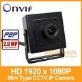 Envío Libre!! HD 1920x1080 P 2.0MP IP Cámara de Interior Mini Cámara de Seguridad Tipo de ONVIF P2P IP CCTV Cam