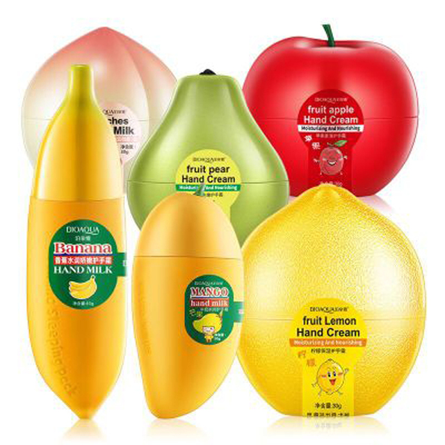 BIOAQUA фруктовый крем для рук персики/банан/манго антивозрастной увлажняющий питательный увлажняющий крем для рук для Зимний уход за руками