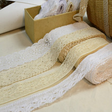 1-3cm 10 yard Diy Handmade Patchwork Cotton Material Lace Ribbon