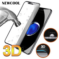NEWCOOL Real 3D Full Cover Tempered Glass Screen Protector 9H Premium Protective Film For Apple iPhone 8 iphone8 Screen Guard